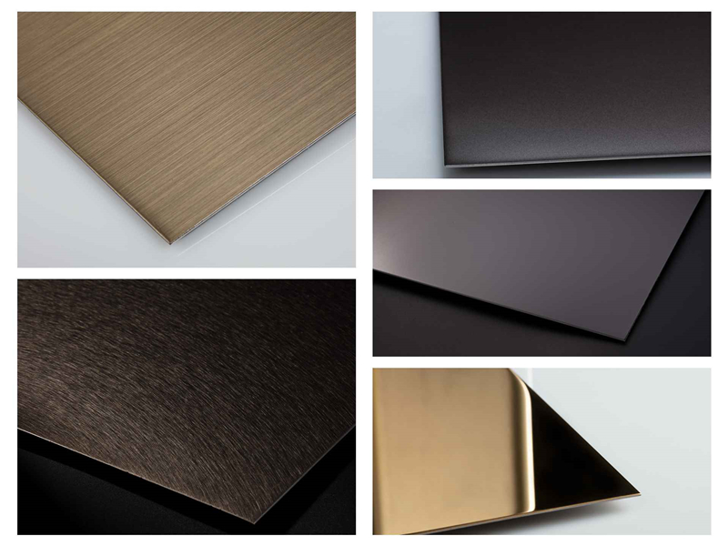 Various Colors And Surface Of Stainless Steel Sheets