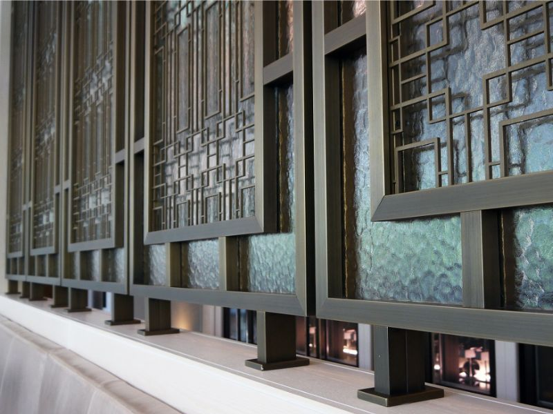 Customized Stainless Steel Metal Work Make The Design Different For The Interior Project