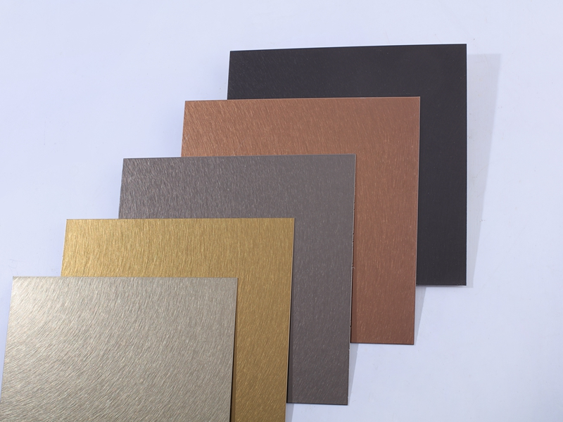 201 304 316  Stainless Steel Color Sheet Stainless Steel Decorative Sheet